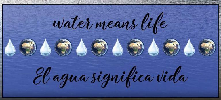 Water means life - 4o ESO - IES Joaquín Torres