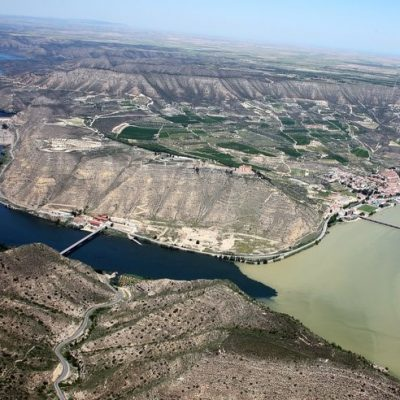 Vista Aérea del Aiguabarreig